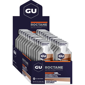 GU Energy Roctane Energy Gel confezione 24x32g, Chocolate Coconut